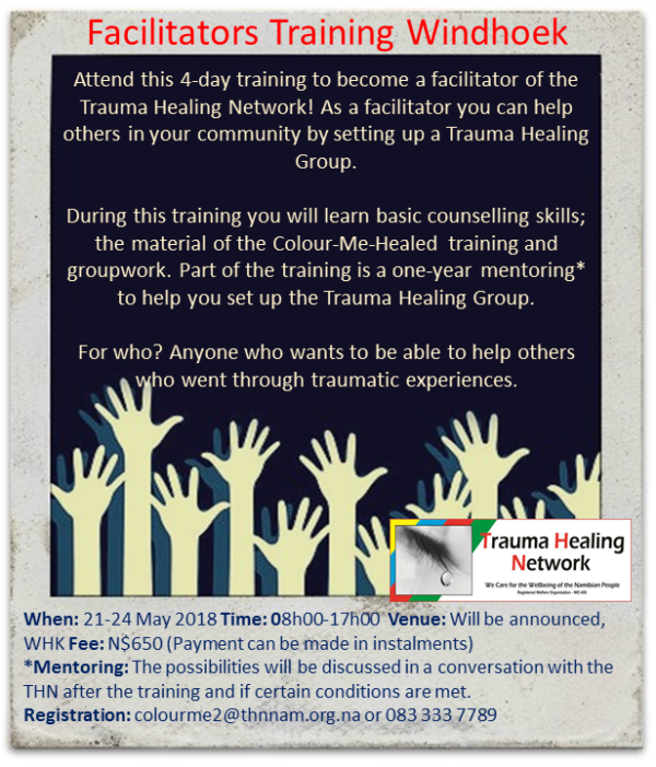 Facilitators Training Windhoek, 21 - 24 May