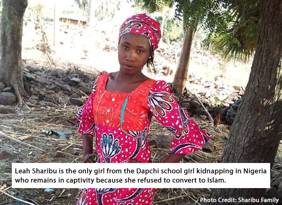 Boko Haram vows to keep Leah Sharibu
