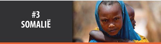 Bid saam vir die #3 land op die Geopende Deure Wêreldwaarnemingslys, Somalië.