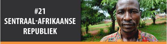 Bid saam vir die #21 land op die Geopende Deure Wêreldwaarnemingslys, Sentraal-Afrikaanse Republiek.